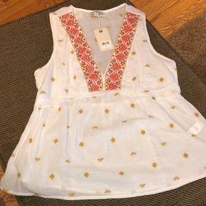 🍀 Lucky Brand sleeveless shirt NWT - Sz M